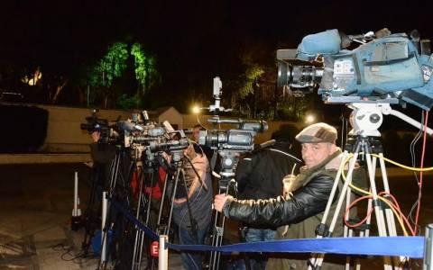 Προγραμματικές δηλώσεις: Πλήθος δημοσιογράφων στη Βουλή (photos)