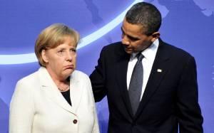 Κρίσιμη συνάντηση Μέρκελ-Ομπάμα