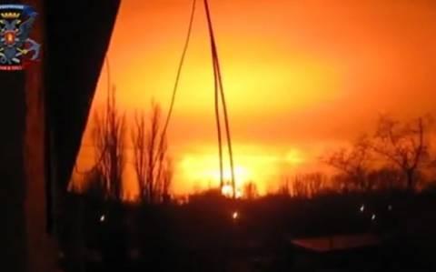 Ντόνετσκ: Έκρηξη σε εργοστάσιο χημικών (video)