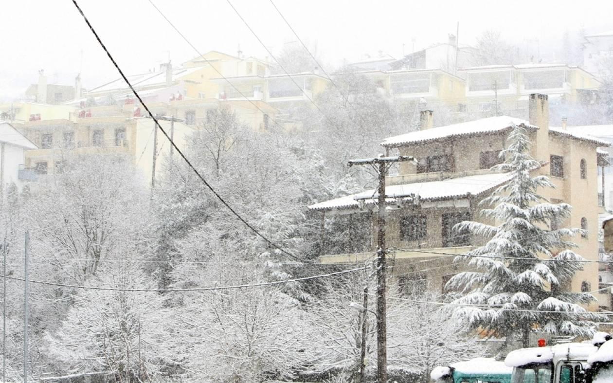 Καιρός: Φρέσκο χιόνι στα χιονοδρομικά της Βόρειας Ελλάδας