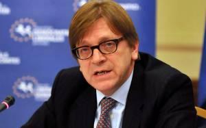 Γ. Φέρχοφστατ: Αντίθετες με το ευρωπαϊκό πνεύμα οι ελληνικές διεκδικήσεις