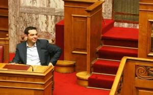 Από την Αυστρία κατευθείαν στη Βουλή ο Αλ. Τσίπρας