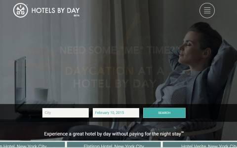 Δωμάτιο για την ημέρα; Μια νέα ιδέα!