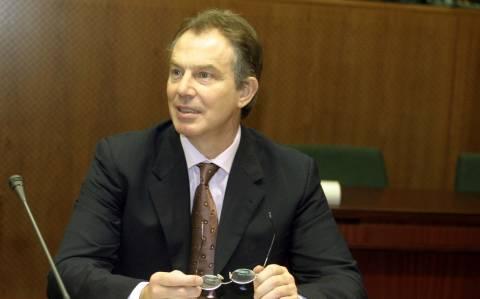 Τόνι Μπλερ: Η ελληνική κρίση είναι μία ευκαιρία που πρέπει να αδράξουμε