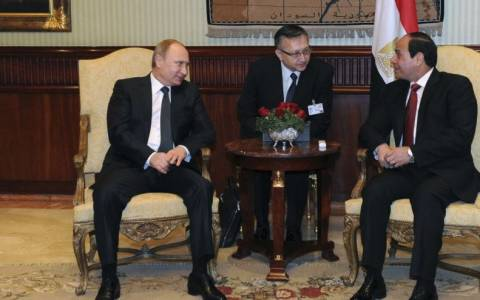 Συμφωνία Μόσχας-Καΐρου για την κατασκευή σταθμού πυρηνικής ενέργειας