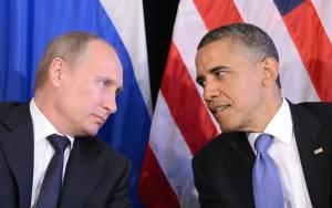 Τηλεφωνική επικοινωνία Ομπάμα-Πούτιν και ευχές για ειρήνη
