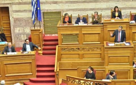Το «ουάου!» του Αντώνη Σαμαρά στη Βουλή! (video)