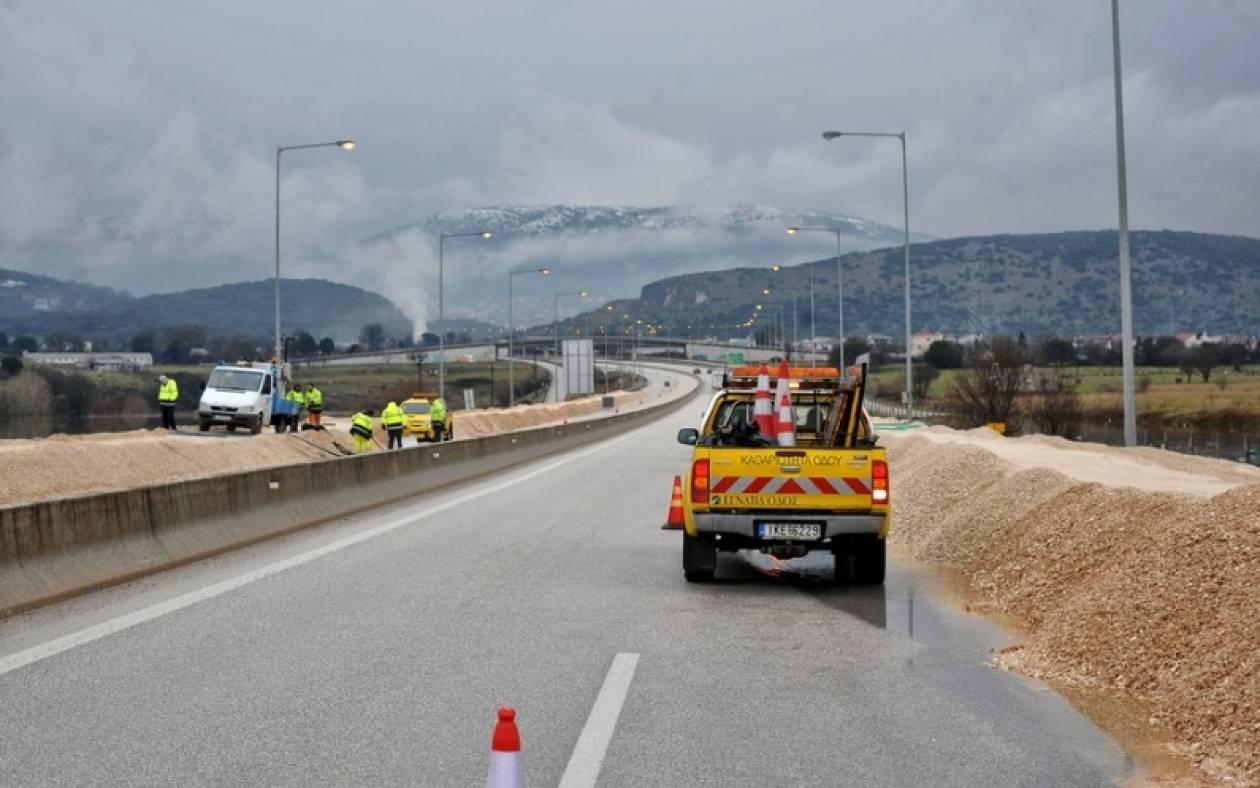 Κακοκαιρία: Νέα διακοπή κυκλοφορίας στην Εγνατία Οδό