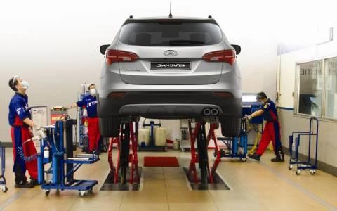 Hyundai: Το πρώτο Αυτοματοποιημένο Συνεργείο
