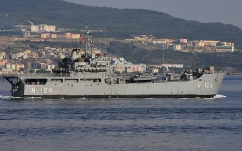 Τουρκικό πολεμικό παρακολουθεί τις έρευνες στην κυπριακή ΑΟΖ