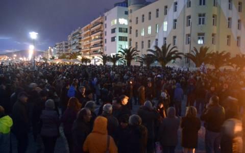 Εκατοντάδες Βολιώτες στο συλλαλητήριο με σύνθημα «Ανάσα αξιοπρέπειας»