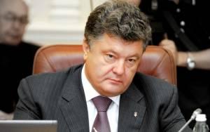 Ποροσένκο: Εκεχειρία για να μη χαθεί τελείως ο έλεγχος