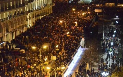 Ηχηρό μήνυμα κατά της λιτότητας έστειλαν οι λαοί της Ευρώπης