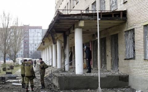 Ντονέτσκ: Οβίδα έπληξε νοσοκομείο-Ένας νεκρός