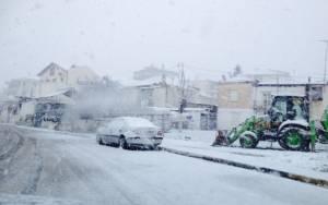 Κακοκαιρία: Πού χρειάζονται αλυσίδες - Ποιοι δρόμοι είναι κλειστοί
