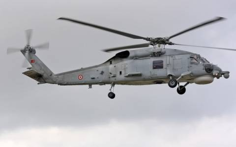 Tουρκικό ελικόπτερο πραγματοποίησε υπερπτήση πάνω από την Κω!