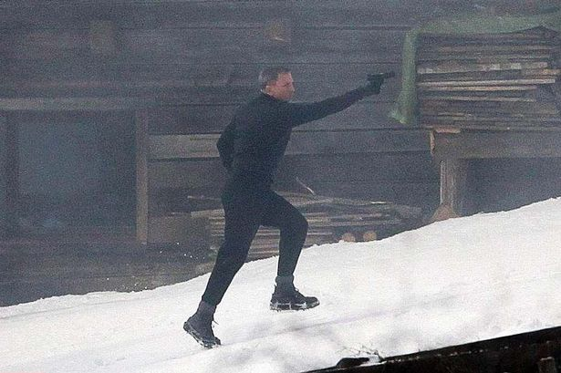 Bond Filming