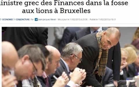 Γαλλικός Τύπος: «Ο Βαρουφάκης στο λάκκο με τα λιοντάρια»