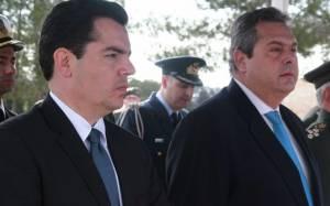 Κύπρος: Το στρατόπεδο ΕΛΔΥΚ επισκέφτηκε ο Πάνος Καμμένος