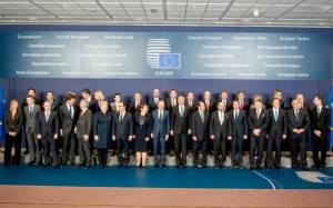 Η «οικογενειακή» φωτογραφία που ανέβασε ο Τσίπρας από τη Σύνοδο Κορυφής