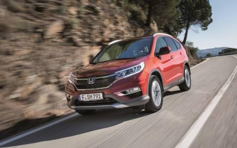 Honda: Το CRV επιστρέφει ανανεωμένο (Photos)