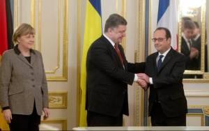 Ολάντ: Θα αρθούν οι κυρώσεις στη Ρωσία αν τηρηθεί η συμφωνία του Μινσκ