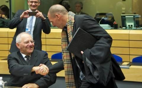 Σόιμπλε για Βαρουφάκη: Σέβομαι τον διάσημο και πολιτισμένο οικονομολόγο