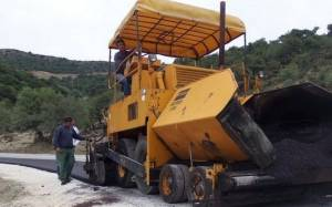 Αμφιλοχία: Υποχώρησε τμήμα του δρόμου Κεχρινιά – Λεπενού