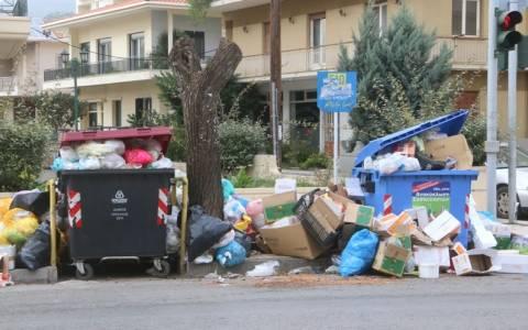 Τρίπολη: Συγκέντρωση έξω από τη χωματερή στο Λεβίδι
