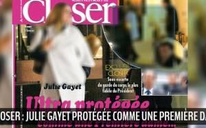 Σάλος στη Γαλλία: Η Γκαγιέ συνοδευόμενη από σωματοφύλακα του Ολάντ (photos)