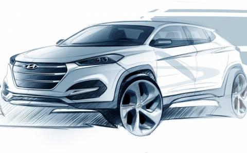 Hyundai: Το πρώτο σκίτσο του νέου Tucson (video)