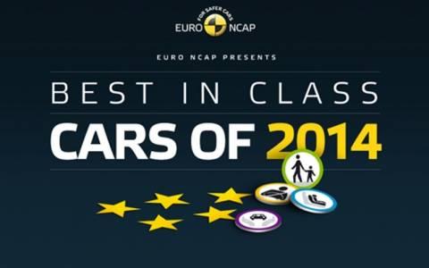 Euro NCAP: Τα καλύτερα μοντέλα για το 2014 (Photos)