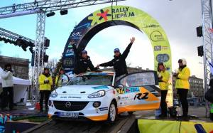 Opel: Νικήτρια στο ξεκίνημα του Ευρωπαϊκού Πρωταθλήματος Ράλλυ (photos)