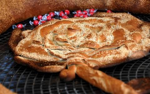 Ημέρα του Αγίου Βαλεντίνου: Μια καρδιά από ψωμί