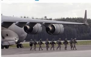 Αμερικανικά πολεμικά αεροσκάφη φθάνουν σε βάση στη Γερμανία