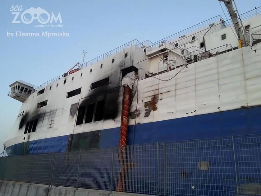 Norman Atlantic: Στο λιμάνι του Μπάρι θα συνεχιστούν οι έρευνες (photos)