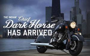 Indian: Παρουσιάστηκε επίσημα η Chief Dark Horse 2016 (video & Photos)