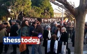 Συγκέντρωση κατά της λιτότητας στη Θεσσαλονίκη - Έψαλαν τον Εθνικό Ύμνο (video)