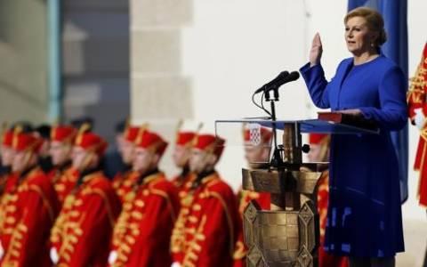 Κροατία: Ορκίστηκε η πρώτη γυναίκα πρόεδρος της χώρας