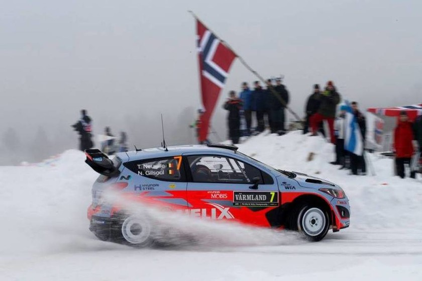 WRC Ράλλυ Σουηδίας:Στη δεύτερη θέση τερμάτισε ο Thierry Neuville