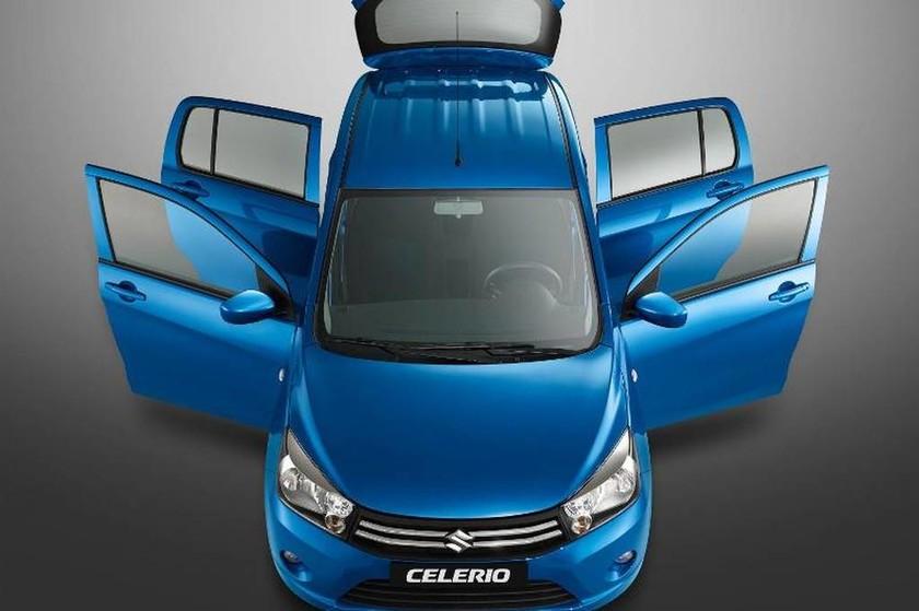 Suzuki: Celerio ένα... XL μικρό αυτοκίνητο (Photos)