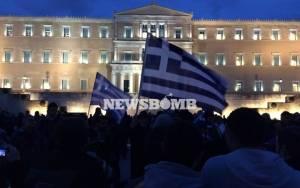 Ολοκληρώθηκαν τα συλλαλητήρια υπέρ της ελληνικής κυβέρνησης (photos)