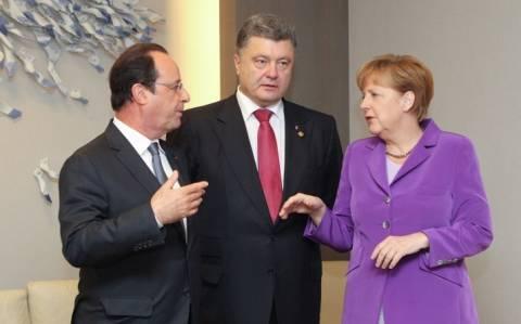 Ουκρανία: Την ελεύθερη πρόσβαση του ΟΑΣΕ ζητούν Γαλλία και Γερμανία