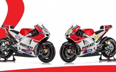 Ducati: Η παρουσίαση της νέας GP15 και όλα τα μυστικά της (photοs & video)