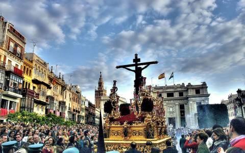 Semana Santa στη Σεβίλλη (video+photos)