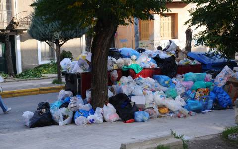 Τρίπολη: Το αργότερο την Πέμπτη η απόφαση για τα σκουπίδια
