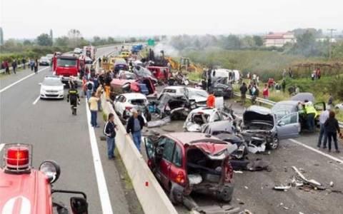 Βαριά «καμπάνα» στον οδηγό της νταλίκας που προκάλεσε το δυστύχημα στην Εγνατία