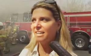 Έκαψε το σπίτι του βιαστή και δολοφόνου του παιδιού της (photos)