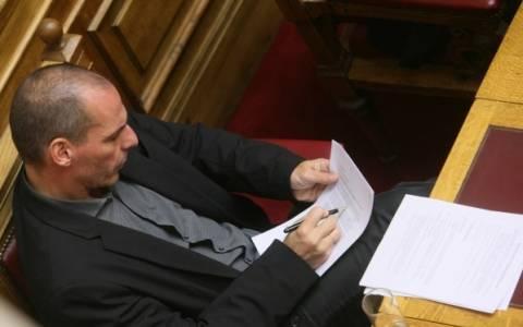 Από νωρίς στη Βουλή ο Γιάννης Βαρουφάκης