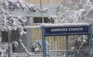 Κακοκαιρία: Με μία ώρα καθυστέρηση θα ανοίξουν τα σχολεία και στην Κηφισιά